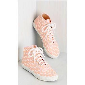 Modcloth Shoes - Cute High Top Magical Unicorn Shoes Modcloth 🦄